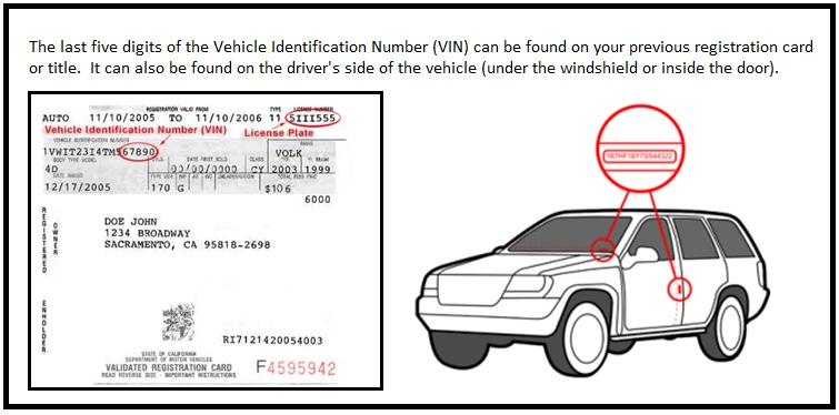 Vehicle Registration Ca >> Registration Renewal Car Registration